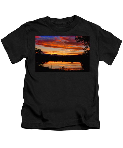 Sunset Reflections Kids T-Shirt