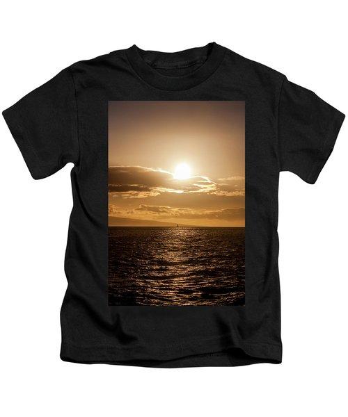Sunset Sailboat Kids T-Shirt