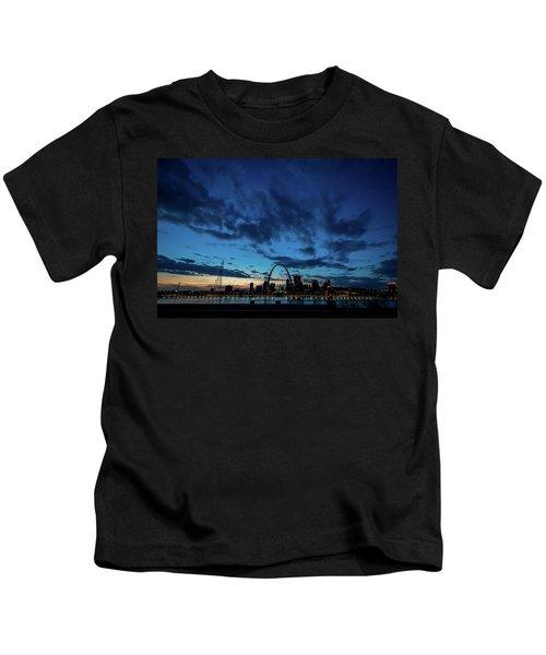 Sunset St. Louis IIi Kids T-Shirt