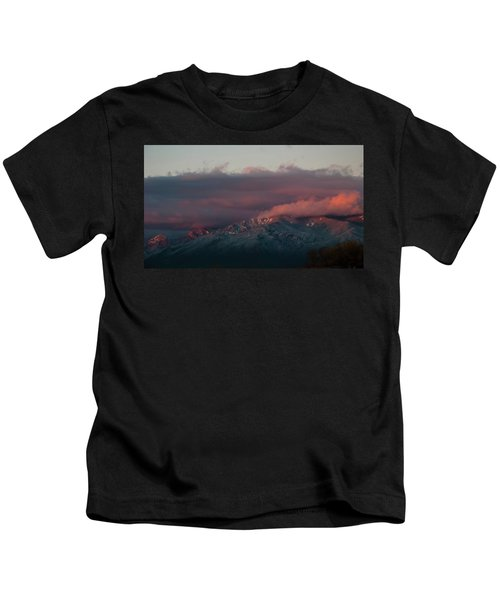 Sunset Storm On The Sangre De Cristos Kids T-Shirt