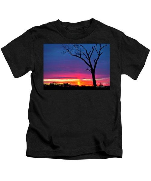 Sunset Sundog  Kids T-Shirt