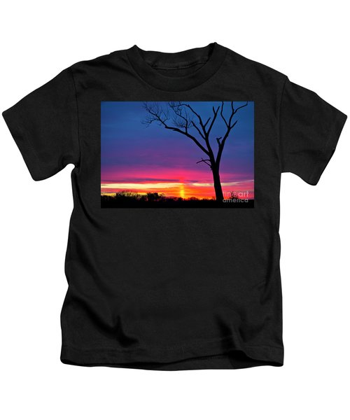 Sunset Sundog  Kids T-Shirt
