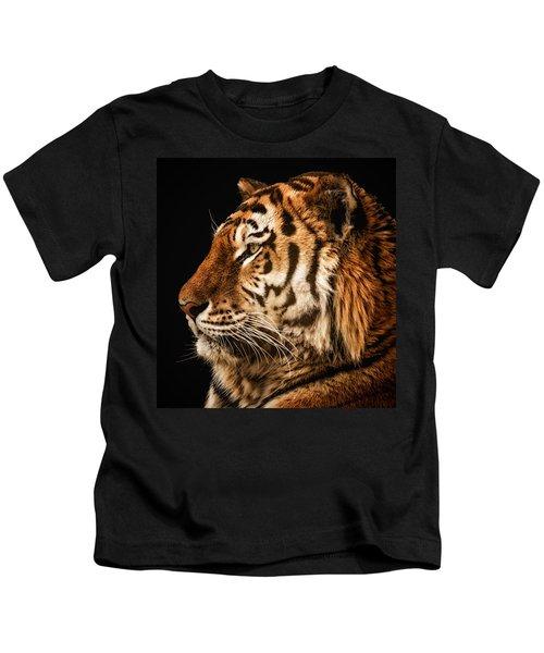 Sunset Tiger Kids T-Shirt