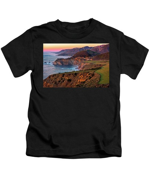 Sunset View From Hurricane Point Kids T-Shirt