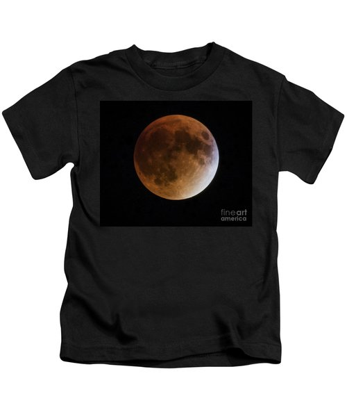 Super Blood Moon Lunar Eclipses Kids T-Shirt