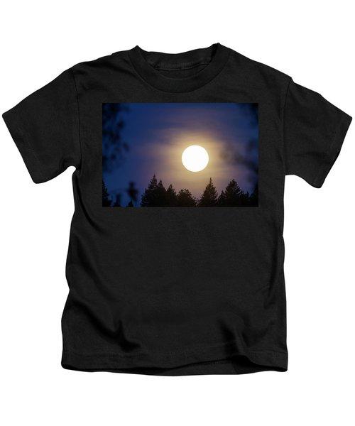 Super Full Moon Kids T-Shirt