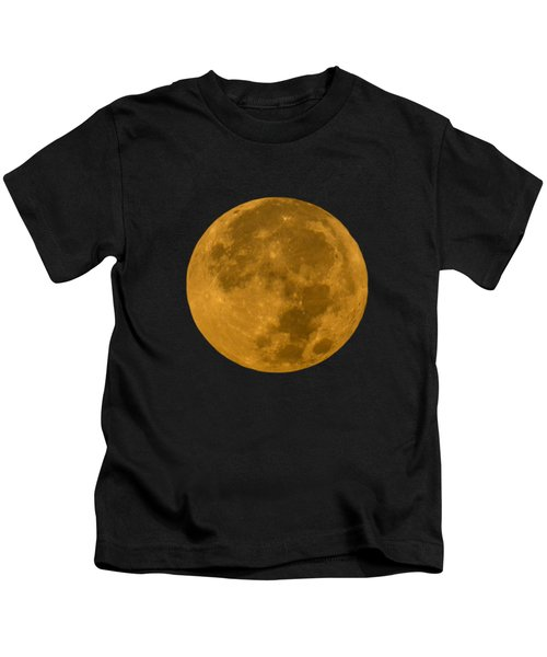 Super Moon Monday Kids T-Shirt