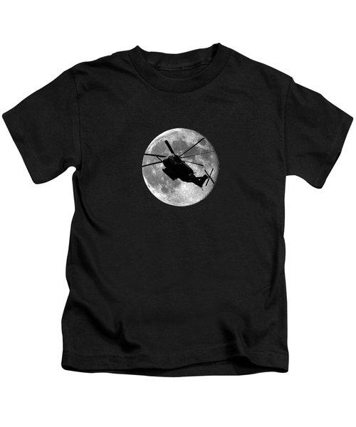 Super Stallion Silhouette .png Kids T-Shirt