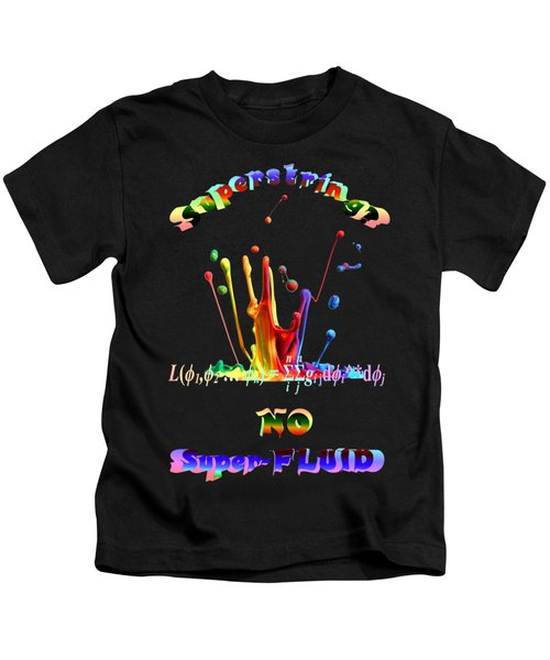Superstring Superfluid Kids T-Shirt