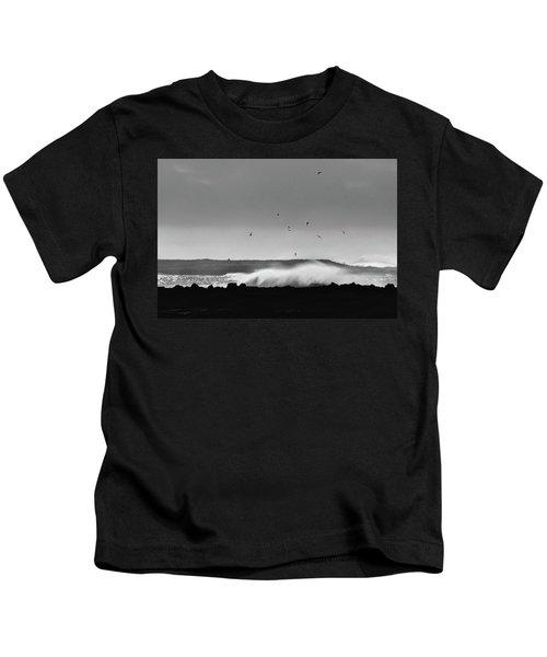 Surf Birds Kids T-Shirt