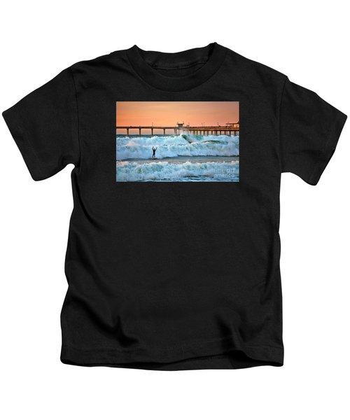 Surfer Celebration Kids T-Shirt