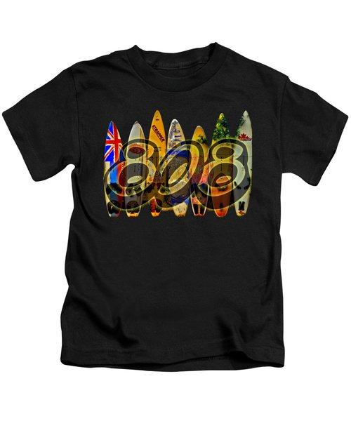 Surfin' 808 Kids T-Shirt