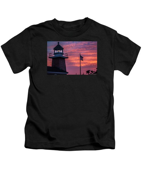 Surfing Museum Full Color  Kids T-Shirt