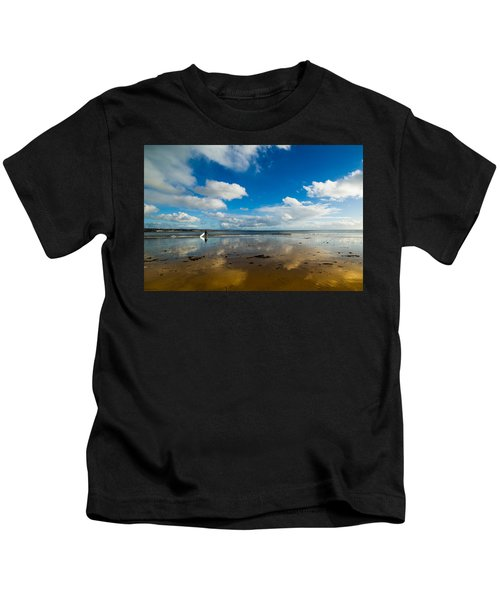 Surfing The Sky Kids T-Shirt
