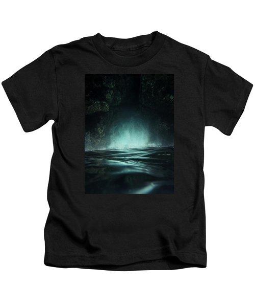Surreal Sea Kids T-Shirt by Nicklas Gustafsson