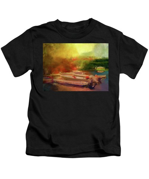 Surreal Sunset In Spanish Kids T-Shirt