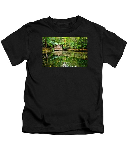 Surrounded By Nature Kids T-Shirt