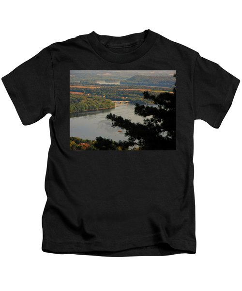 Susquehanna River Below Kids T-Shirt