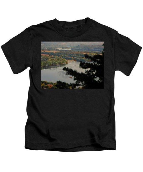 Susquehanna River Below Kids T-Shirt