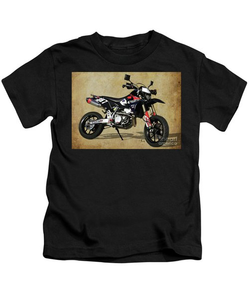 Suzuki Race Motorcycle. 387. Kids T-Shirt