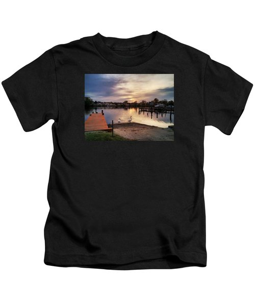 Swans Of Chink Creek Kids T-Shirt