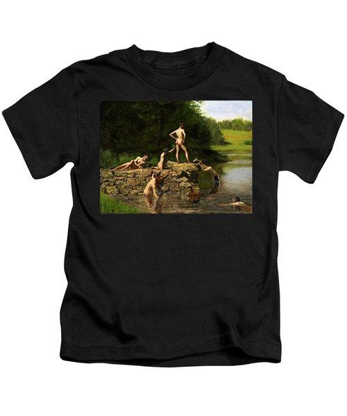 Swimming Hole Kids T-Shirt