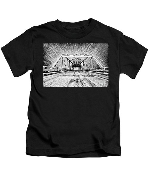 Swing Bridge Blizzard Kids T-Shirt