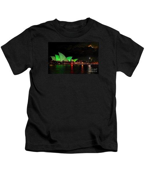 Sydney Opera House Vivid Festival Australia Kids T-Shirt