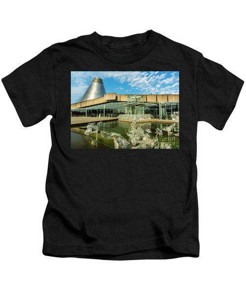 Tacoma's Museum Of Glass  Kids T-Shirt