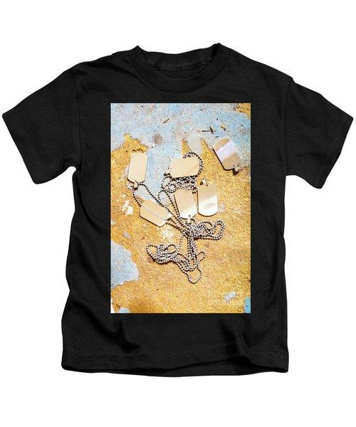 Tags Of War Kids T-Shirt