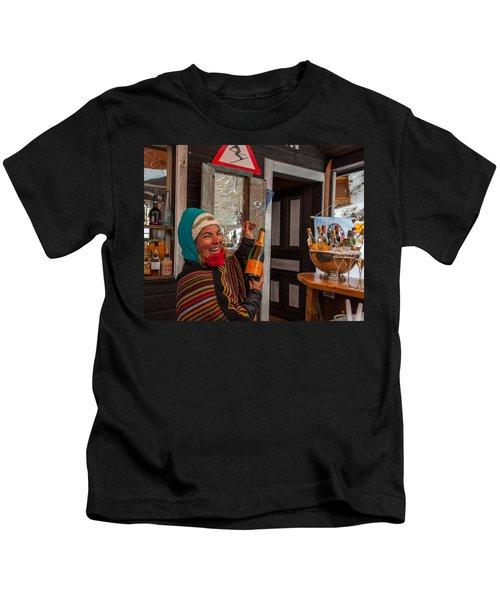 Taimi In Zermatt Switzerland Kids T-Shirt
