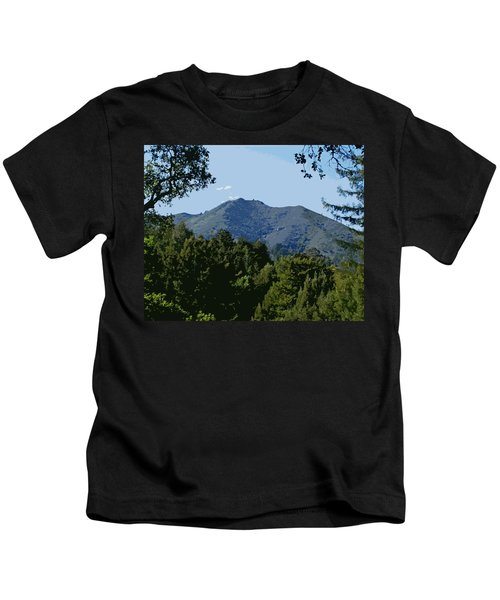 Tamalpais...the Sleeping Princess Kids T-Shirt