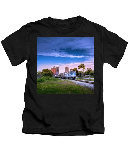 Tampa Departure Kids T-Shirt