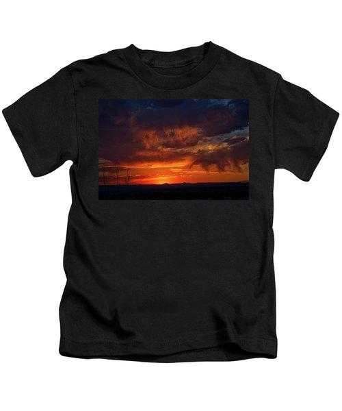 Taos Virga Sunset Kids T-Shirt