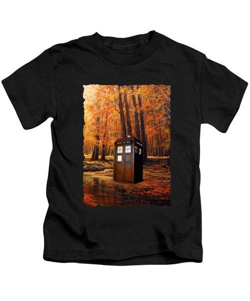 Tardis Doctor Who  Kids T-Shirt