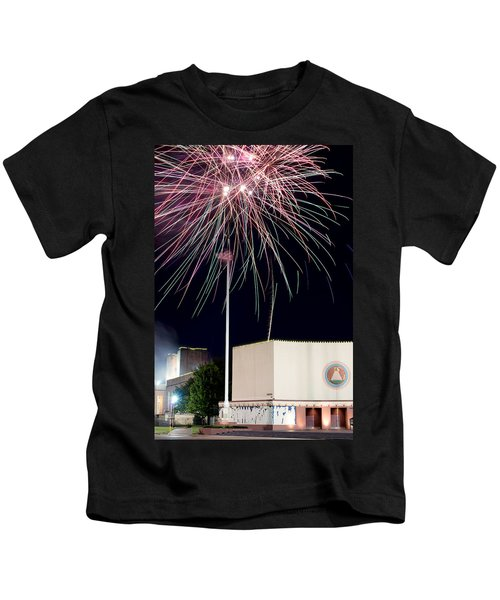 Taste Of Dallas 2015 Fireworks Kids T-Shirt