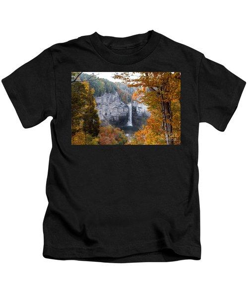 Taughannock Autumn Kids T-Shirt