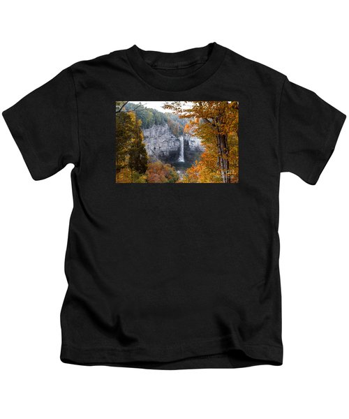 Taughannock Autumn Kids T-Shirt