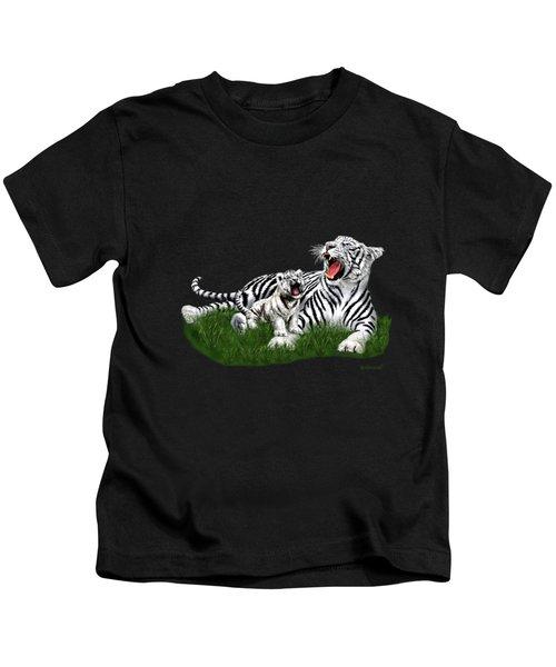 Tiger Cub Learns To Roar Kids T-Shirt