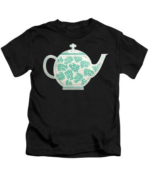 Teapot Garden Party 1 Kids T-Shirt