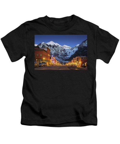 Telluride Main Street 3 Kids T-Shirt