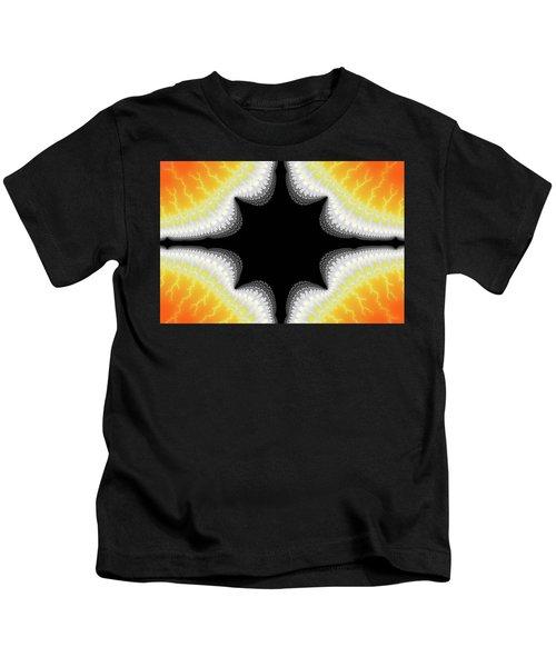 Fractal 7 Center 2x3 Kids T-Shirt