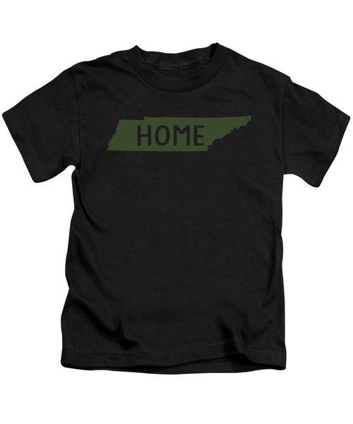 Tennessee Home Green Kids T-Shirt