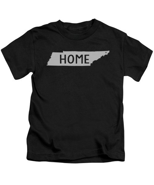 Tennessee Home White Kids T-Shirt