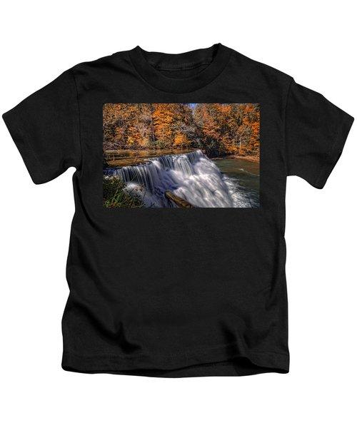 Tennessee Waterfall Kids T-Shirt