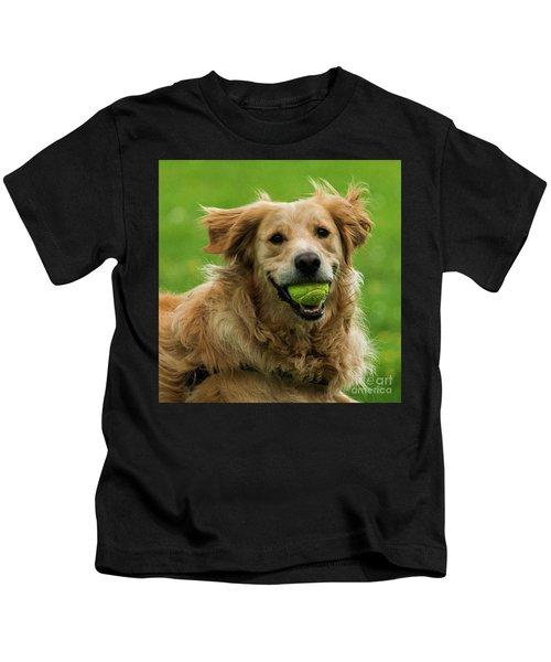 Tennis Is On ..wanna Play? Kids T-Shirt