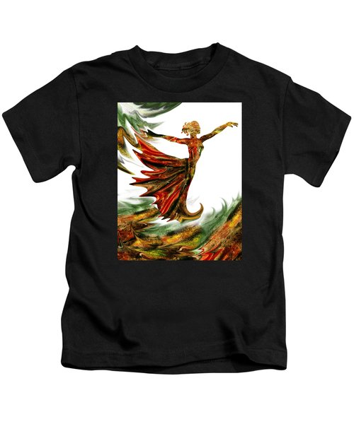 Terrestrial Wind Dance Kids T-Shirt