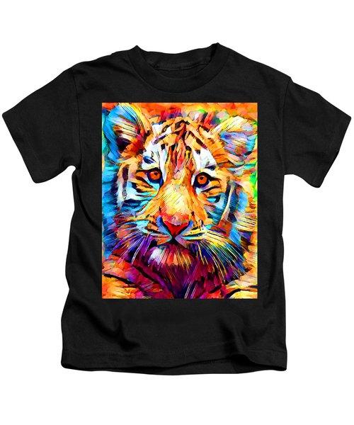Siberian Tiger Kids T-Shirt