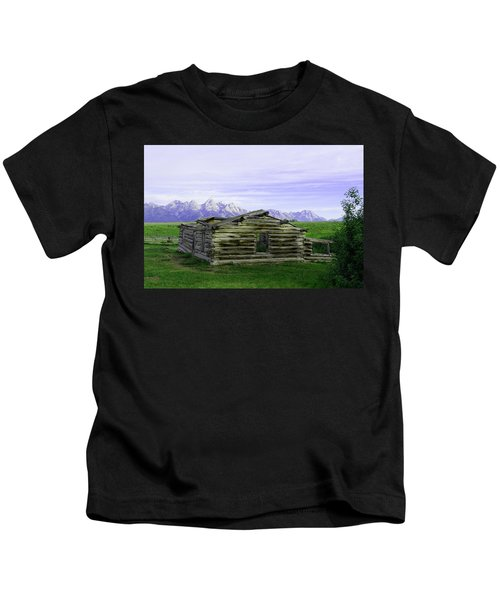 Tetons From The Shane Barn Kids T-Shirt