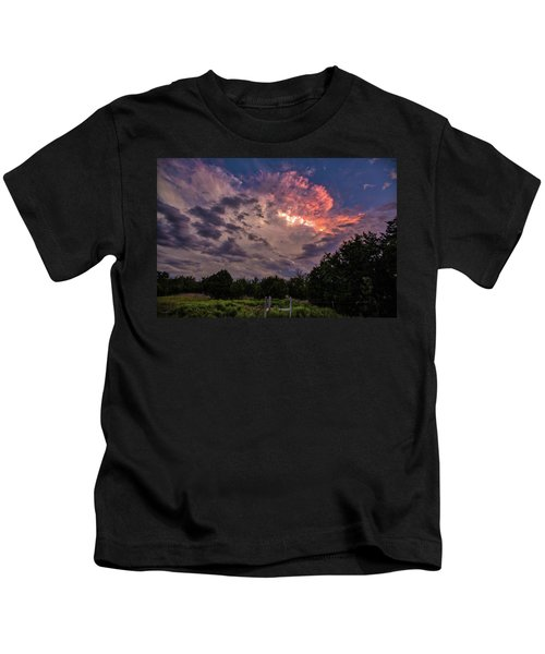 Texas Sunset Kids T-Shirt